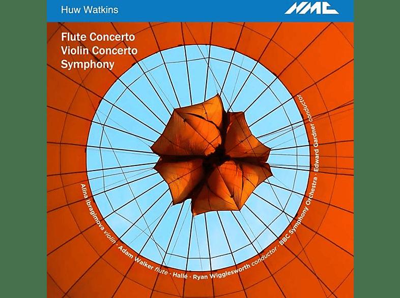 Ibragimova/Walker/Gardner/Wigglesworth/Hallé - Sinfonie/Violinkonzert/Flötenkonzert [CD]