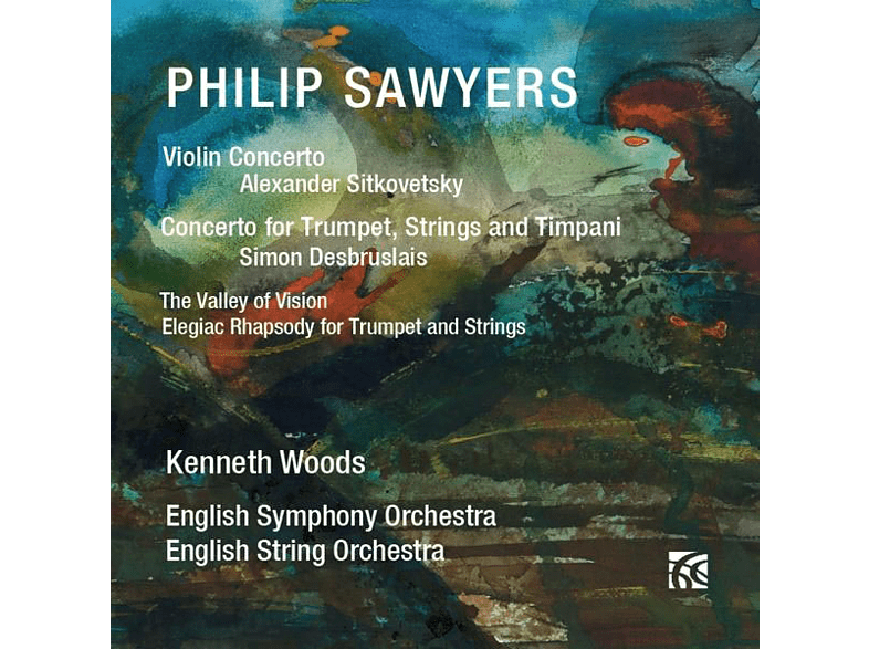 Sitkovetsky/Desbruslais/Woods/ESO/Engl.StringOrch. - Violinkonzert/Trompetenkonzert [CD]