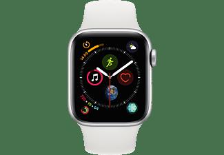 APPLE Watch Series 4 40mm zilver aluminium / wit sportbandje