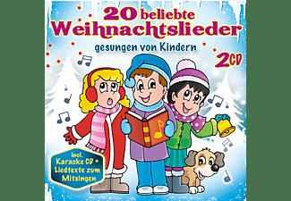 VARIOUS - 20 beliebte Weihnachtslieder gesungen  von Kindern  - (CD)