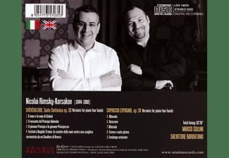 Sollini,Marco/Barbatano,Salvatore/+ - Scheherazade und Capriccio espagnol  - (CD)