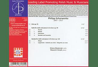 Masternak,Oriana/Cierpik,Slawomir - Musik für Violine und Klavier  - (CD)