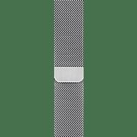 APPLE 44 mm Milanaise Armband, Ersatzarmband, Apple, Watch Modelle 42 mm und 44 mm, Silber