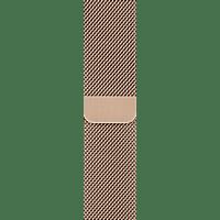 APPLE 40 mm Milanaise Armband, Ersatzarmband, Apple, Watch Modelle 38 mm und 40 mm, Gold