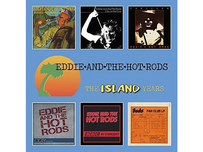 Eddie And The Hot Rods - THE ISLAND YEARS (6CD BOX) [CD]