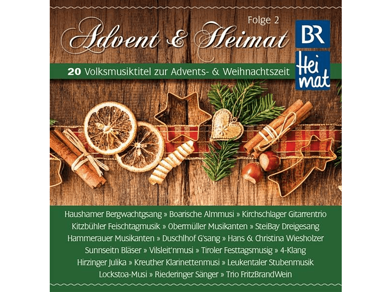 Br Heimat Diverse Interpreten - BR Heimat-Advent & Heimat,Folge 2 [CD]