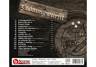 Project Inntaler - Z'sammgwürflt  - (CD)