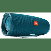 JBL Charge 4 Bluetooth Lautsprecher, Blau, Wasserfest