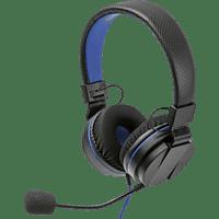 SNAKEBYTE Headset 4 Stereo und abnehmbaren Mikrofon  Gaming Headset, Schwarz/Blau