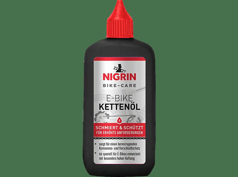 NIGRIN 50084 FAHRRAD-KETTENÖL E-BIKE 100 ML (100 mlHellgelb)