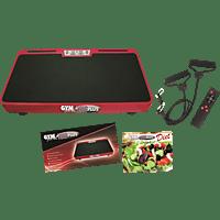 INDUSTEX GYMform® VIBROMAX Plus Vibrationstrainer, Schwarz/Rot