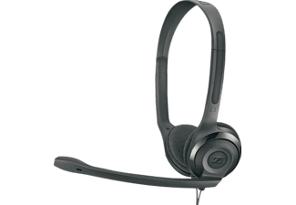 SENNHEISER PC 5 Chat, On-ear Kopfhörer Schwarz