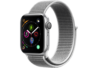 APPLE Watch Series 4 40mm Silver με Seashell Sport Loop