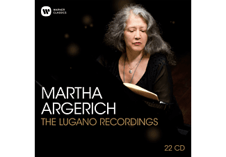 Martha Argerich, VARIOUS - Martha Argerich-The Lugano Recordings  - (CD)