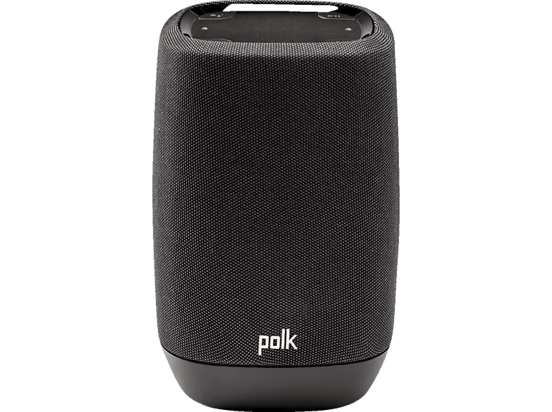 POLK AUDIO Polk Assist - Smart-Lautsprecher  (Bluetooth, W-LAN Schnittstelle, Midnight Black)