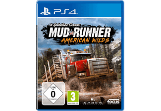 PS4 - Spintires: MudRunner – American Wilds /D