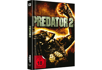 Predator 2 UHD (Media Book) Exklusiv  Cover A 4K Ultra HD Blu-ray + Blu-ray
