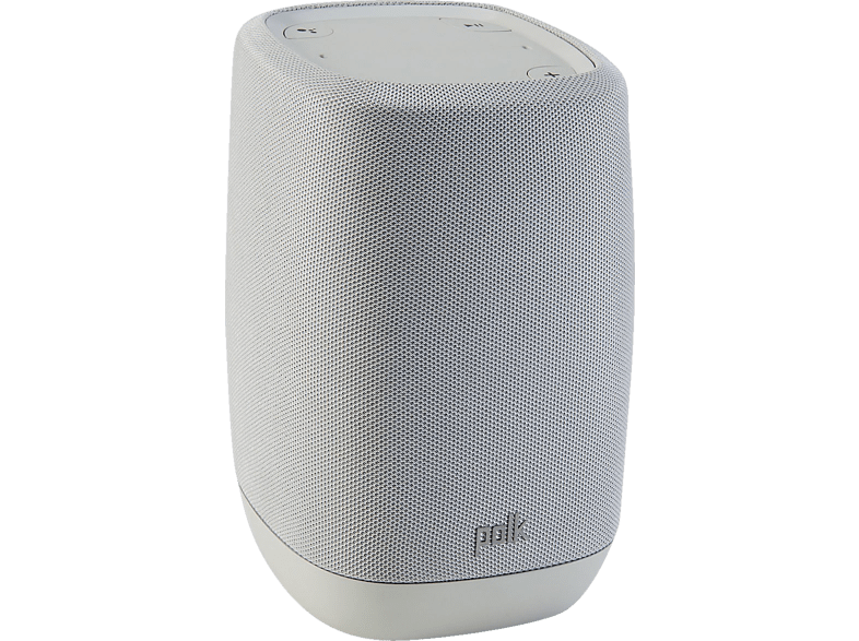 POLK AUDIO Polk Assist - Smart-Lautsprecher (Bluetooth, W-LAN Schnittstelle, Cool Gray)