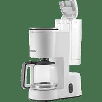 GRUNDIG KM 5860 Newline Aroma Kaffeemaschine Weiß/Schwarz