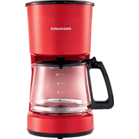 GRUNDIG KM 4620 R Kaffeemaschine Rot