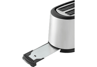 GRUNDIG TA 5620 Harmony Toaster Edelstahl/Schwarz (850 Watt, Schlitze: 2)