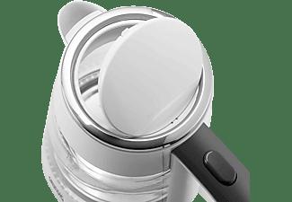 GRUNDIG WK 5860 Newline Wasserkocher, Weiß/Schwarz