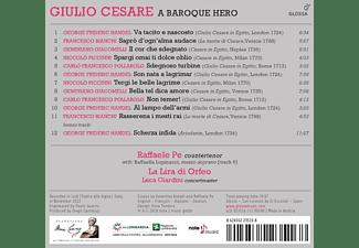 Pe,Raffaele/Giardini,Luca/La Lira di Orfeo - Giulio Cesare-A Baroque Hero-Arien  - (CD)