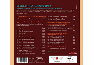 Peter Waldner - Ex Bibliotheca Mariaemontana-Barocke Tastenwerke  - (CD)
