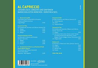 Dorothea/barocksolisten München Seel - Al Capriccio-Konzerte & Sinfonien  - (CD)