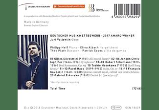 Juri Vallentin - Bridges-Dt.Musikwettbewerb Preisträger 2017  - (CD)