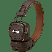 MARSHALL Major III, On-ear Kopfhörer Bluetooth Braun