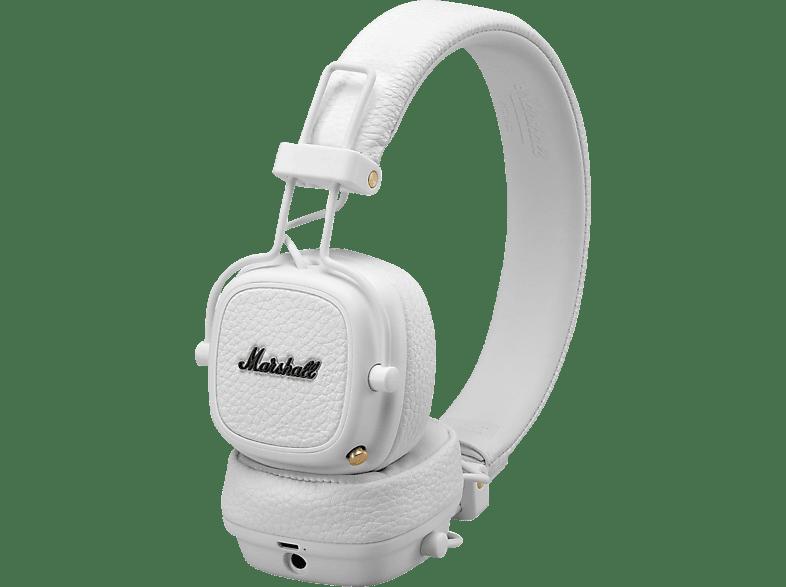 MARSHALL Major III, On-ear Kopfhörer Bluetooth Weiß