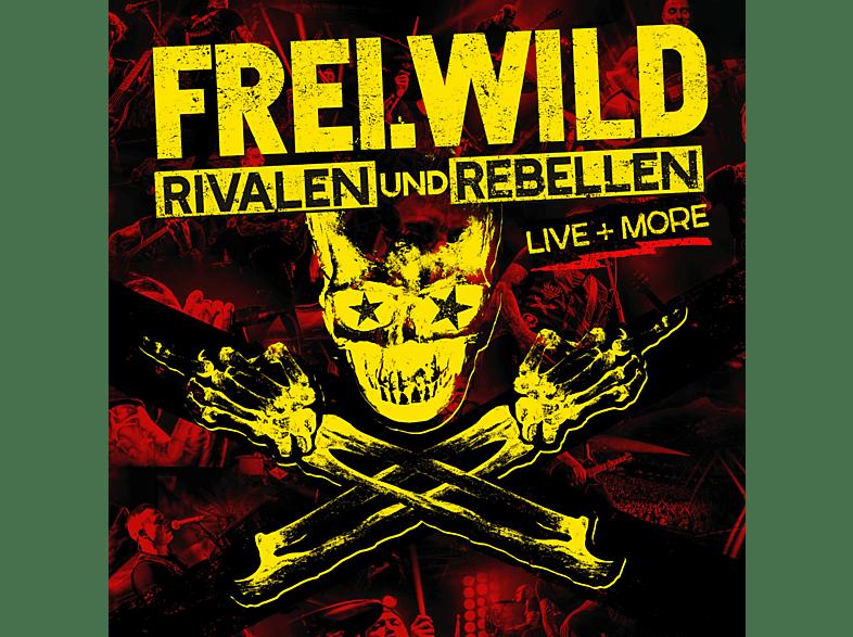 Frei.Wild - Rivalen und Rebellen LIVE&MORE (Limited Edition, 2CD + DVD) [CD + DVD Video]