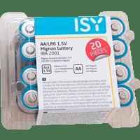 ISY IBA-2001 AA Batterie  20 Stück