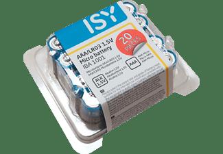 ISY IBA-1001 AAA (Micro) Batterie, 1.5 Volt 20 Stück