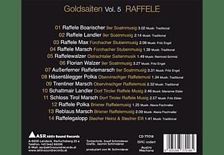 VARIOUS - Goldsaiten Vol.5-Volksmusik CD Raffel  - (CD)