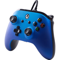 POWER A XboxOne & PC Wired Controller, Sapphire Fade