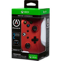 POWER A XboxOne & PC Wired Controller Crimson Fade Controller, Rot