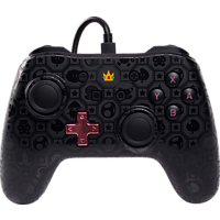 POWER A Switch Wired Controller Shadow Peach Controller, Rosa/Schwarz