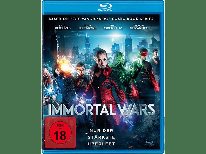 The Immortal Wars - Nur der Stärkste Überlebt [Blu-ray]