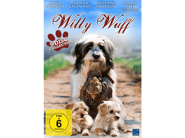 Willy Wuff Collection - 5 Filme Edition [DVD]