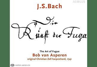 Asperen,Bob van/Klapproth,Bernhard - Die Kunst der Fuge BWV 1080  - (SACD Hybrid)