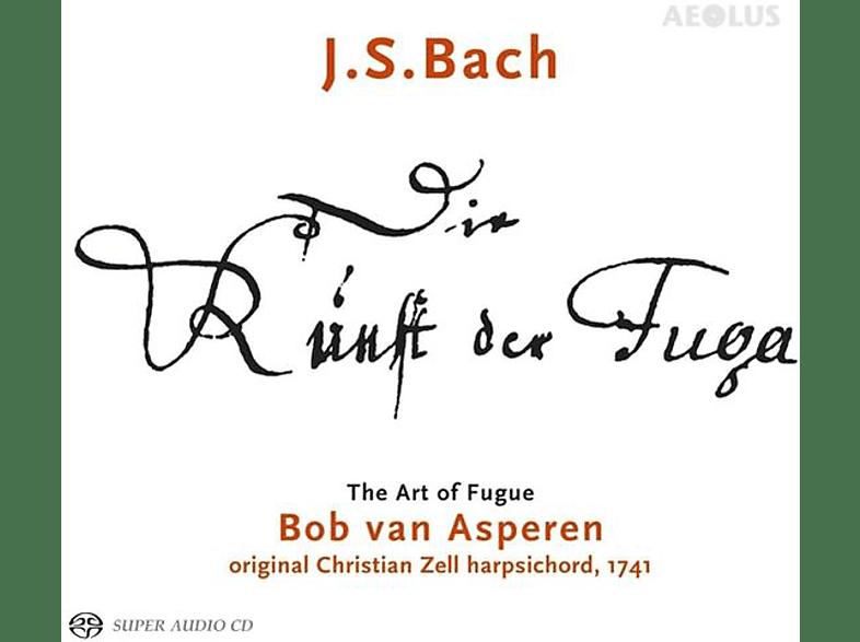 Asperen,Bob van/Klapproth,Bernhard - Die Kunst der Fuge BWV 1080 [SACD Hybrid]