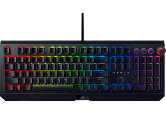 RAZER Blackwidow Elite Green Switch - Taktile & Klicky, Gaming Tastatur, Mechanisch, Razer Green