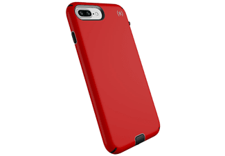 SPECK Cover Presidio Sport iPhone 8/7+ Heartrate Red / Sidewalk Grey / Black (104442-6685)