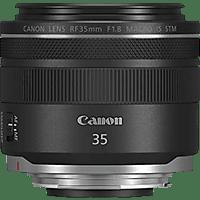 CANON RF35MM 35 mm f/1.8 STM, IS (Objektiv für Canon R-Mount, Schwarz)