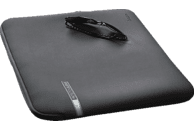 HAMA Neoprene Notebooktasche, Sleeve, 17.3 Zoll, Grau/Rot