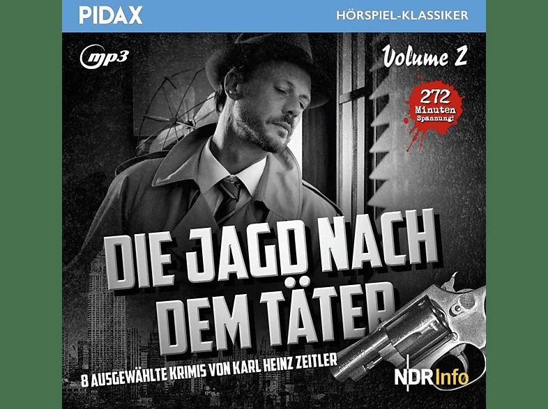 Die Jagd Nach Dem Taeter - Die Jagd nach dem Täter, Vol.2 - (MP3-CD)