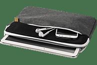 HAMA Florenz Notebooktasche, Sleeve, 10.1 Zoll, Grau/Schwarz