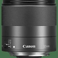 CANON EF-M32mm 32 mm f/1.4 STM (Objektiv für Canon M-Mount, Schwarz)